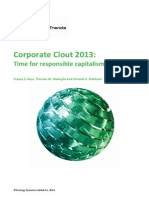 GLOBAL TRENDS CorporateClout2013 TimeforResponsibleCapitalism
