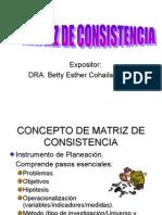 Matriz de Consist Enc i A