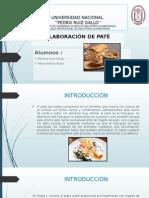 ELABORACIÓN DE PATE DE HIGADO CON MANTEQUILLA (Pate)