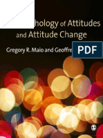 The Psychology of Attitudes and Attitudes Change