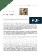 Pedagogo John Dewey