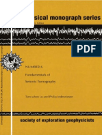 Fundamentals of Seismic Tomography
