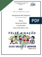 Planejamento de Setembro EISC IIGD