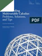 Understanding Multivariable Calculus