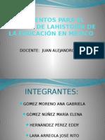 Historia Social y Política de la educación. Mactu