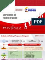 Presentacion Política de Reintegración ACR EJC