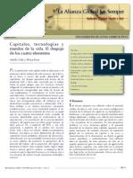 Capitales, Tecnologías y Mundos de La Vida, Adolfo Gilly