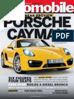 Automobile Magazine February 2013