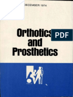 1974 Orthotics and Prosthetics