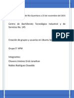 Usuarios y Grupos Ubuntu Server