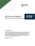 HP 3PAR Thin Conversion Vmware-wp-09.2