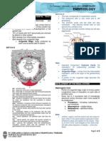 GYNEPrelims - Embryology
