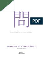 Mida Ideogrammi - L'intervista di potenziamento, Jacopo Melloni