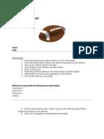 teachingfootballworksheet