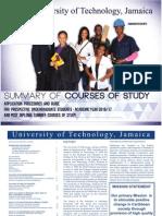 UTechJa Summary of Courses of Study (1)