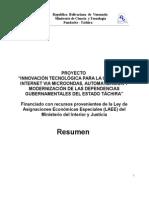Proyecto WiFi Venezuela