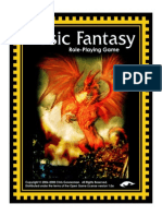 Basic Fantasy RPG Rules 2ndEd Cover
