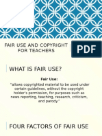 fair use presentation hannah cone