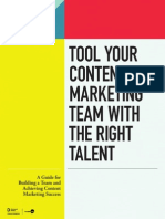 Tool Your Content Marketing Team - Demand Media + ScribbleLive