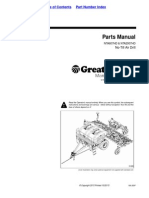 Great Plains Parts Manual  NTA607HD & NTA2007HD