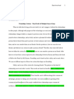 portfolio revision final draft of multiple source essay