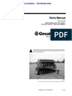 Great Plains Parts Manual  705 and 1005