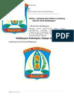 Arti Lambang Provinsi Balikpapanx