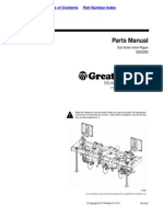 Great Plains Parts Manual Sub-Soiler Inline Ripper