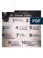 10 Consejos de Steve Jobs