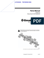 Great Plains Parts Manual CTA4000 HD37p