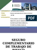 Diapositivas de Seguro Complementario de Trabajo de Rieso.