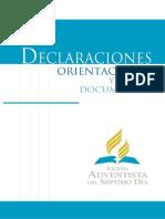 Declaraciones, Orientaciones Y Otros Documentos