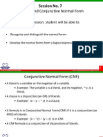 BSC207A 7 Normal Forms