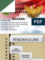 SISTEM KONSTITUSI NEGARA INDONESIA
