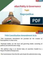 12 (a) Nagarpalika