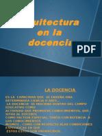 Arquitecto en La Docencia