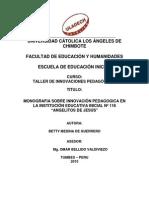 Monografia de Innovaciones Pedagogicas (1)