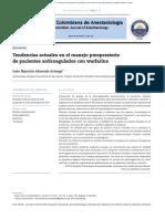 anticoagulados con warfarina