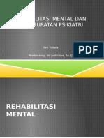 Devi Rehab Mental Kegawatdaruratan Psikiatri