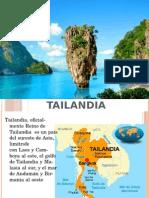 CULTURA Y GASTRONOMIA DE TAILANDIA