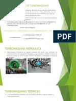 Definicion de Turbomaquinas