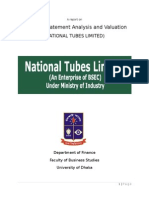 report on NTL