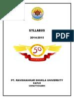BCA-2- 2015 PRSSU Raipur