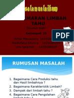 ppt. Pencemaran Limbah Tahu
