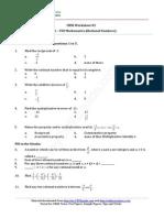 08 Mathematics Ws Ch01 01 Dz