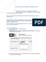 Instalacija Android Studia Na Windows Operativnim Sistemima