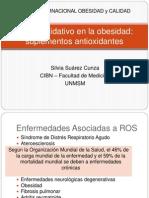 Dra. Silvia Suárez Estrés Oxidativo en La Obesidad JSF2013