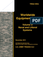 Worldwide Equipment Guide (WEG) Update 2011, Volume 3 - Naval and Littoral Systems