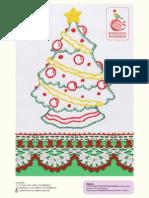Árvore de Natal Pontos Livres