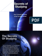 Secrets of Studying